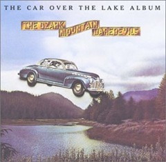 car over the lake