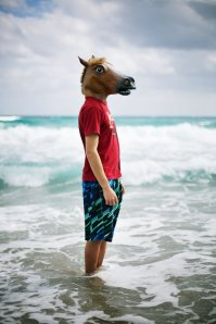 Nothing approaches horse masks in terms of raw hillarity